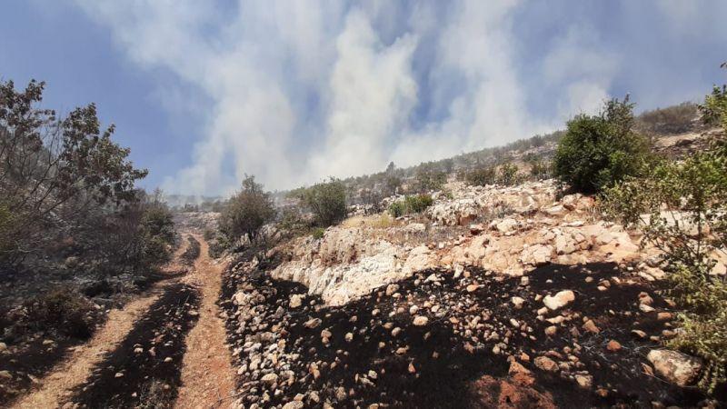 السيطرة على حريق زغرين في الهرمل
