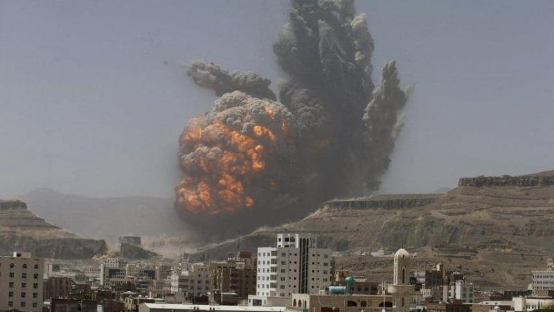 طيران العدوان السعودي يصعّد من غاراته على اليمن