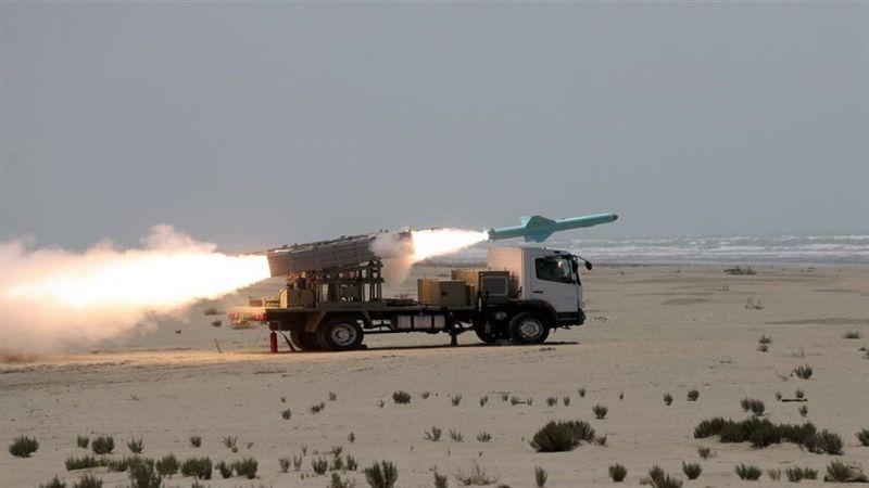 تجربة إيرانية ناجحة لصواريخ كروز محلية الصنع