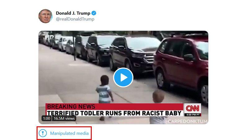 "تويتر تفضح ترامب مجدداً .. ""يشوّه الحقائق""!"