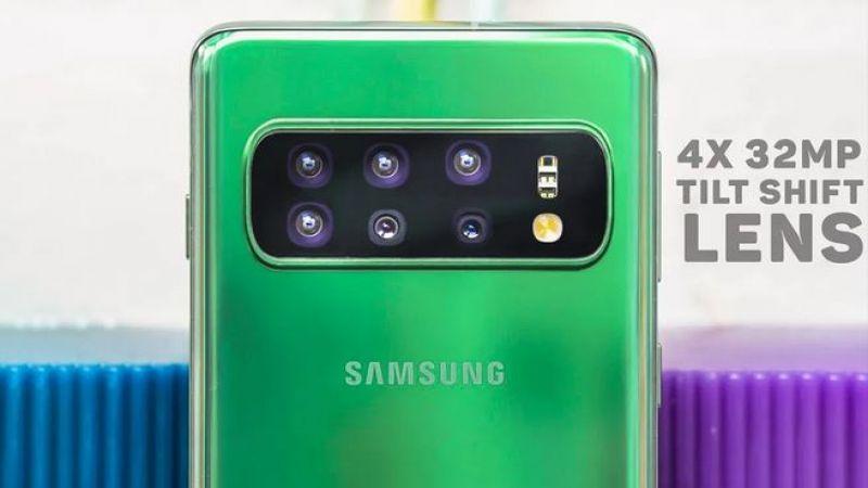 """هاتف """"سامسونغ"""" الجديد: 6 كاميرات"""
