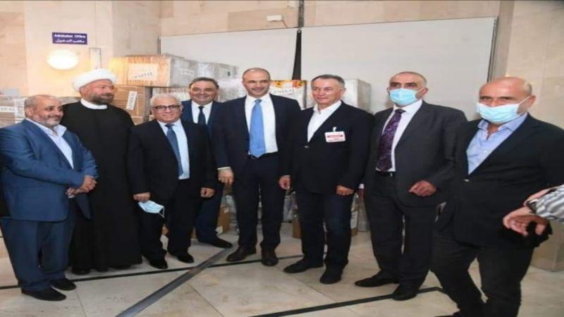 وزير الصحة من مستشفى البوار: بدءا من أول تموز سوف يتم استقبال الوافدين الى لبنان