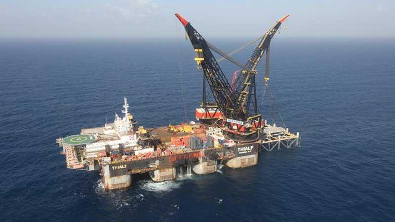 حكومة العدو صادقت على التنقيب عن الغاز في المنطقة البحرية المتنازع عليها مع لبنان
