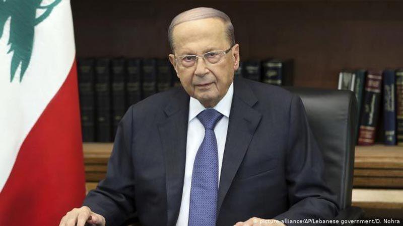 الرئيس عون: لبنان لن يسمح بالتعدي على مياهه الإقليمية