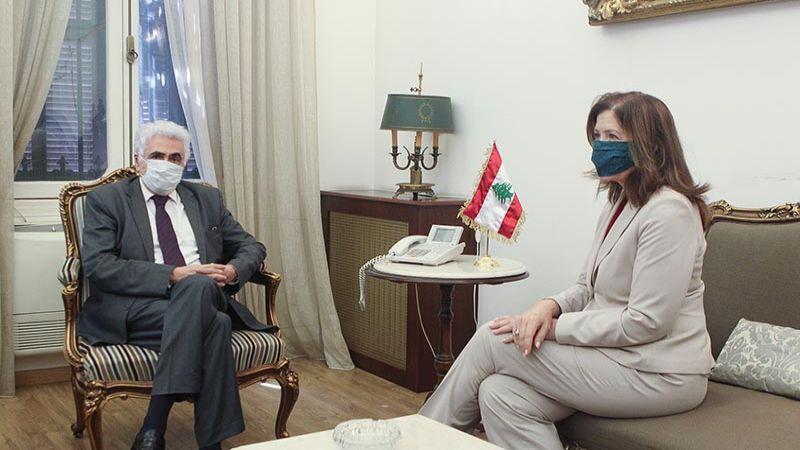 حتي التقى السفيرة الاميركية: حرية الإعلام وحق التعبير مقدسان