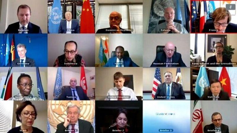 ظريف: آن الأوان للمجتمع الدولي أن يحمل أميركا مسؤولية أفعالها غير القانونية