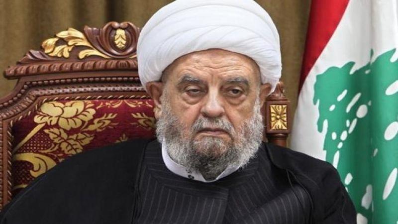 رئيس المجلس الإسلامي الشيعي الأعلى يطالب وزيرة العدل ومجلس القضاء برفض استقالة مازح
