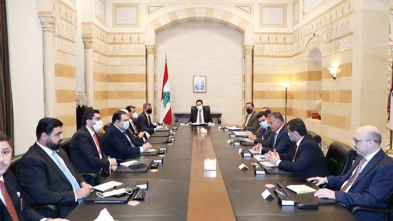 وفد حكومي عراقي في السراي ناقش آلية تصدير النفط إلى لبنان