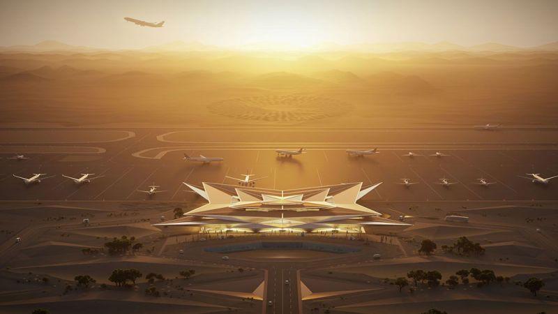 العالم منشغل بأزماته والسعودية بمطار للأثرياء فقط!