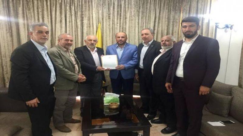 حماس تسلم حزب الله رسالةً من رئيس الحركة إسماعيل هنية إلى سماحة السيد حسن نصر الله حول قرار الضم وصفقة القرن