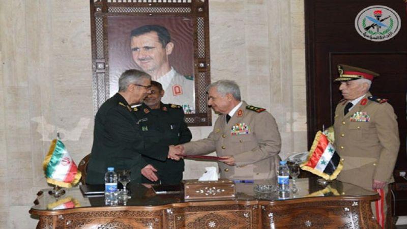 طهران ودمشق توقعان اتفاقًا عسكريًا