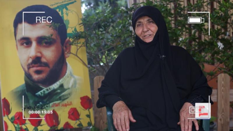 والدة الشهيد علي صالح: لن نجوع.. والنصر لنا