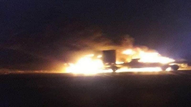 استهداف شاحنات تحمل معدات لقوات الاحتلال الأميركي جنوب العراق
