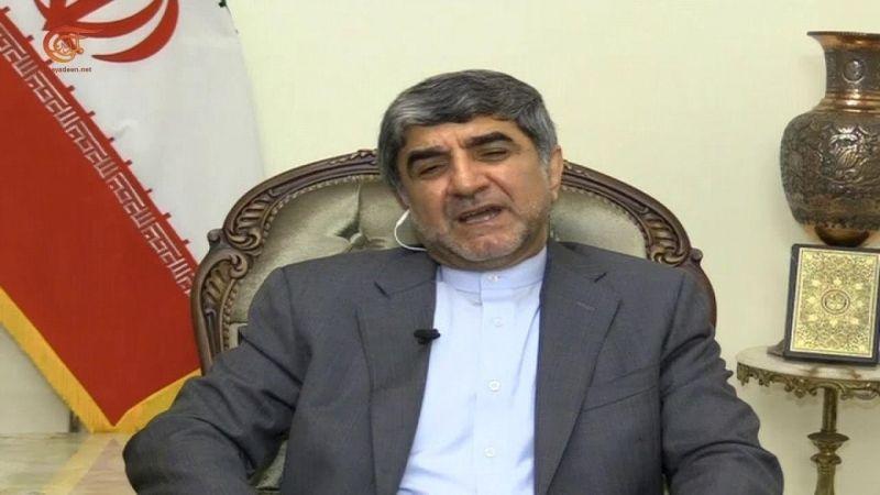 السفير الايراني: مستعدون لدعم لبنان بكل ما يريد واعتماد الليرة اللبنانية في عمليات التبادل التجاري