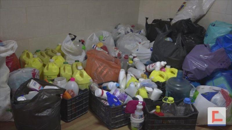 حماية للبيئة في سحمر .. مشروع لإعادة تدوير البلاستيك