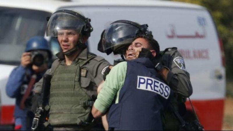 نقابة الصحفيين الفلسطينيين: 259 انتهاكًا صهيونيًا بحق الصحفيين في النصف الأول من العام الجاري