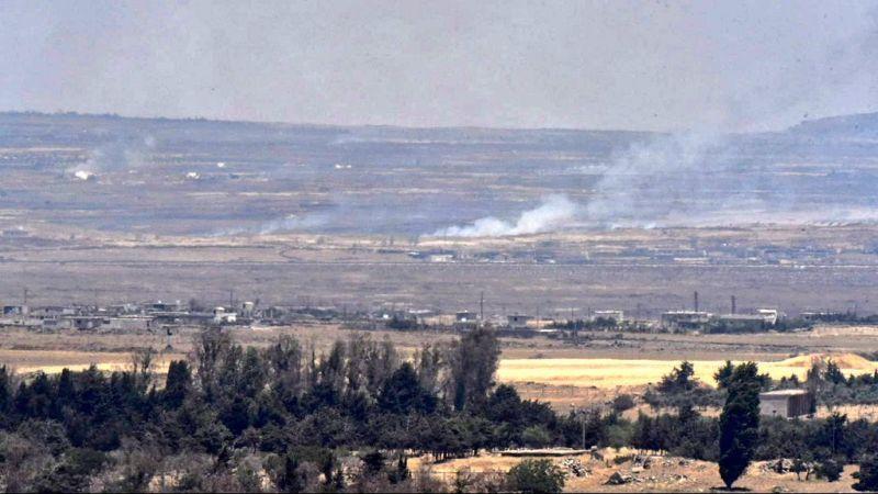 المضادات السورية تصدت لجسم إسرائيلي في القنيطرة وسقوط شظايا في الجولان المحتل