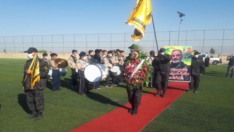 حزب الله وجمهور المقاومة شيعوا الشهيد المجاهد سلامة صقر في الهرمل
