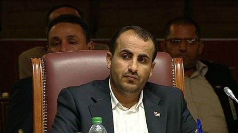 عبد السلام: العدوان والأمم المتحدة لا يتعاطون بإيجابية مع أي مبادرة سلام ويريدون استسلامنا