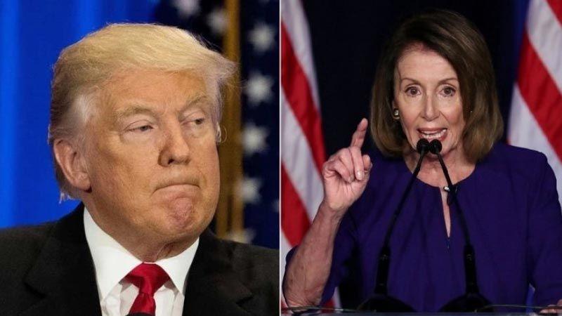 الحرب بين ترامب وبيلوسي على أشدّها