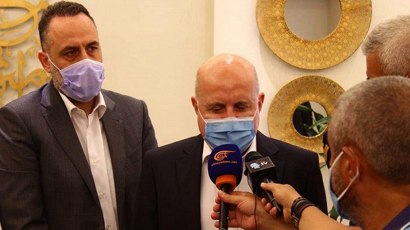 وفد العهد يزور رئيس الاتحاد اللبناني لكرة القدم