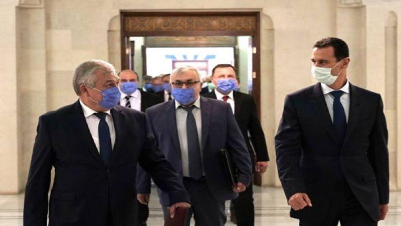 الرئيس الأسد يستقبل المبعوث الخاص للرئيس الروسي إلى سورية ونائب وزير الخارجية الروسي