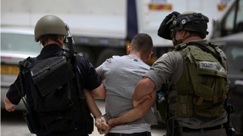 الاحتلال يعتقل 17 فلسطينيا من الضفة