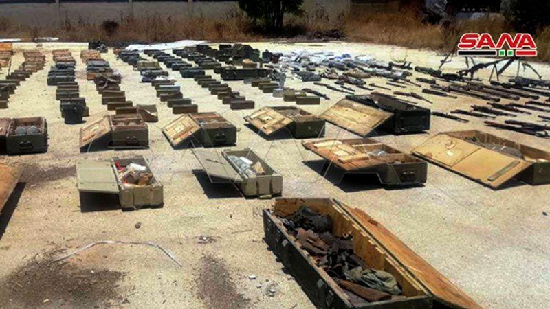 إحباط عملية تهريب أسلحة إلى ادلب