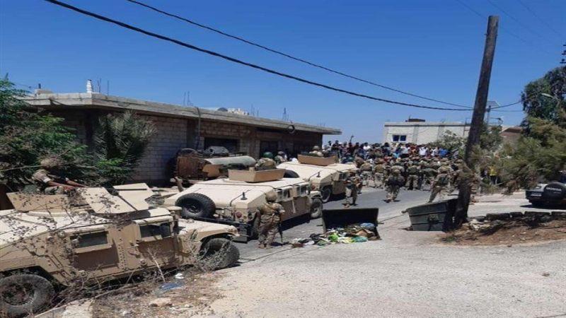 إصابة 10 عسكريين ووفاة شخص .. هذا ما حصل في إشكال وادي خالد