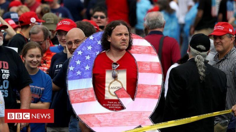 """حركة """"كانون"""" الأميركية تهديدٌ إرهابي في الولايات المتحدة بدعم من ترامب"""