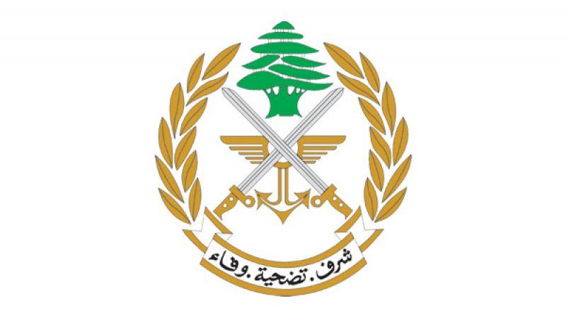 قيادة الجيش اللبناني: عزل منطقة التفجير مستمر .. وتكليف الشرطة العسكرية بمتابعة التحقيقات