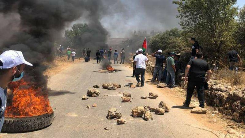 رفضوا استيطانهم فقابلهم بالرصاص .. شهيدة و 5 اصابات برصاص الاحتلال في الضفة الغربية