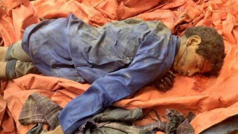 اليمن: إرتفاع عدد شهداء مجزرة العدوان في الجوف الى 20