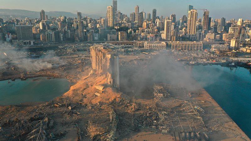 قبرص تستجوب مالك السفينة التي تسببت حمولتها في انفجار بيروت
