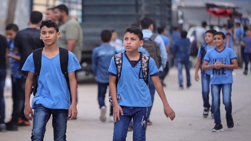 كيف استؤنف العام الدراسي في غزة؟