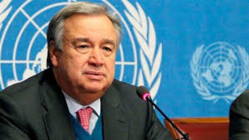 الأمين العام للأمم المتحدة: نتضامن مع لبنان ونطالب بإجراء تحقيق موثوق وشفاف بشأن الانفجار
