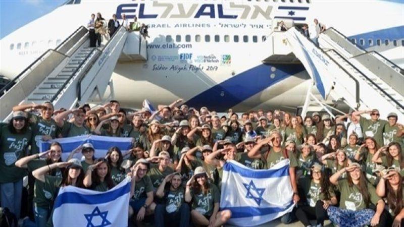 أكبر هجرة يهودية من أميركا الشمالية الى الأراضي المحتلة