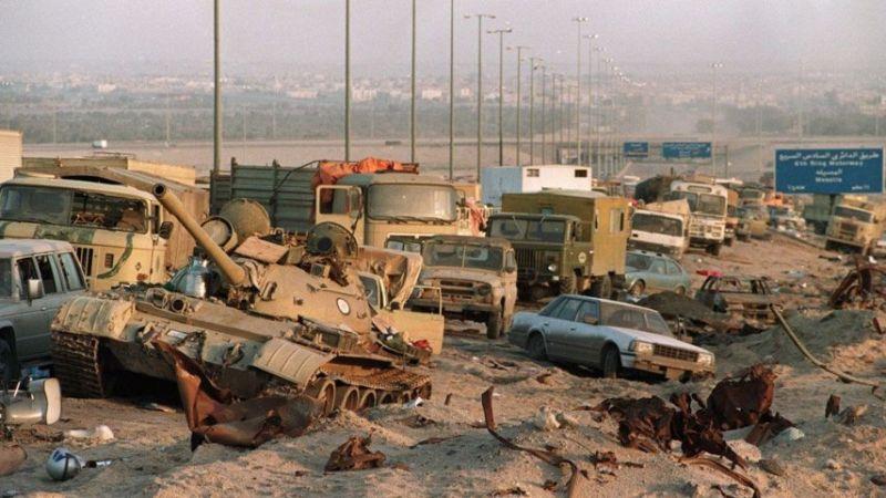 تفجير يستهدف قافلة تحمل معدات عسكرية أمريكية قرب حدود العراق والكويت