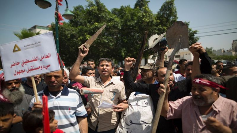 غزة: قطاع العمال منهكٌ جراء الحصار