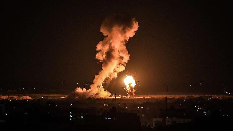 غارات للاحتلال على غزة