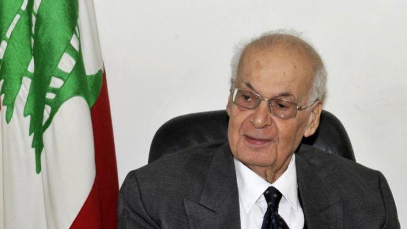 الرئيس الحص: ما أقدمت عليه الإمارات جريمة بحق فلسطين والعروبة