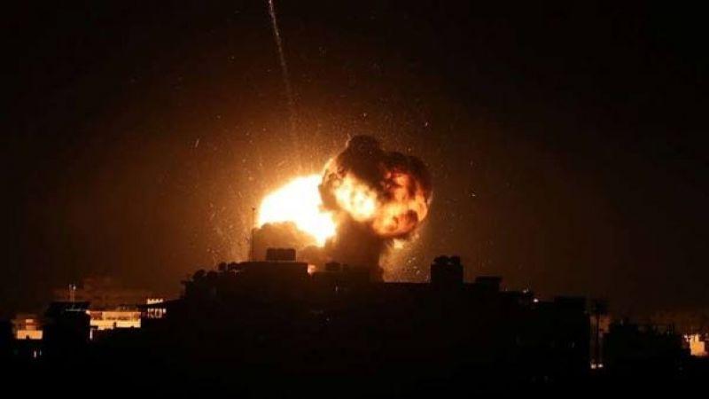 اصابات في قصف جوي ومدفعي اسرائيلي على قطاع غزة