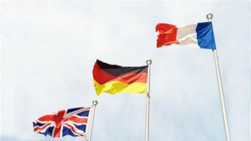 فرنسا وألمانيا وبريطانيا: لا ندعم مبادرة واشنطن لاعادة فرض العقوبات على إيران