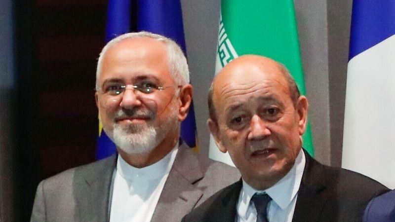 محادثات هاتفية بين ظريف ولودريان حول الاتفاق النووي وأوضاع لبنان
