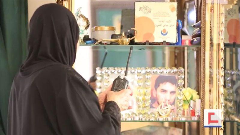 """والدة الشهيد حسن المصري: """"استشهد حسن وبقي سبعة.. كلهم للمقاومة"""""""