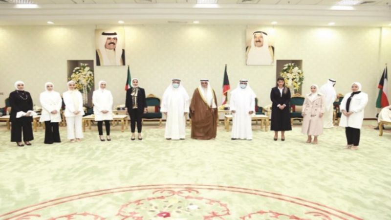 للمرة الأولى في الكويت: 8 نساء يدخلن السلك القضائي