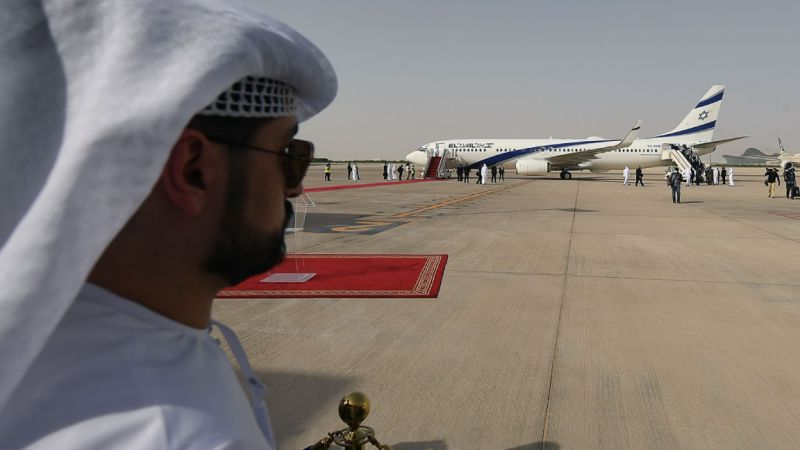 بعد السعودية.. البحرين تسمح للرحلات الاسرائيلية بعبور أجوائها