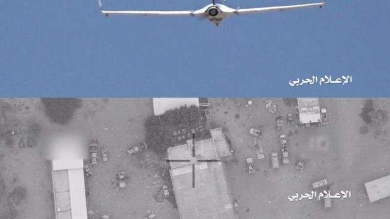 سلاح الجو اليمني يهاجم أهدافاً عسكرية في مطار أبهاالسعودي