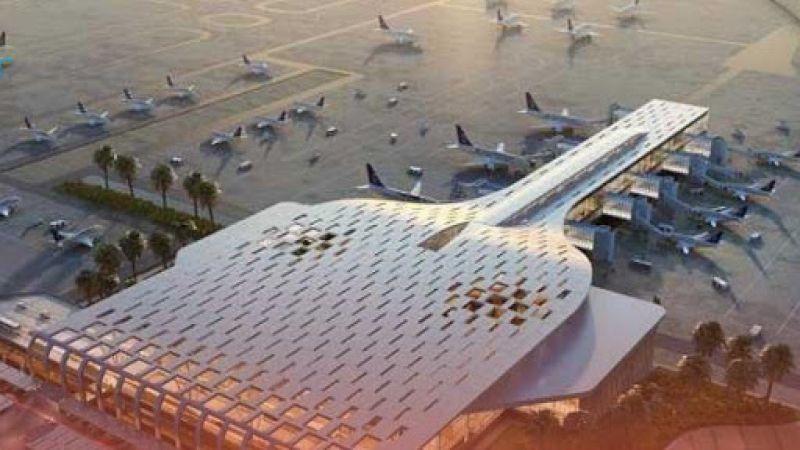 مطار أبها السعودي الدولي تحت نيران طائرات صماد 3 اليمنية