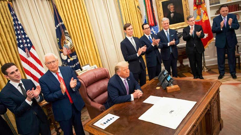 استعدادات لتوقيع اتفاق العار الأسبوع المقبل في البيت الأبيض